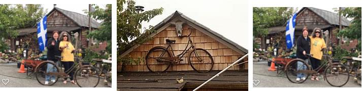 finding the bike